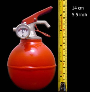 El extintor más pequeño del mundo